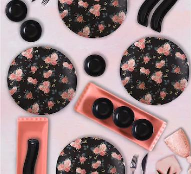 Keramika 15 Parça 4 Kişilik Kahvaltı Seti