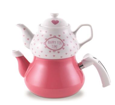 Schafer Tee Garten Emaye Çaydanlık